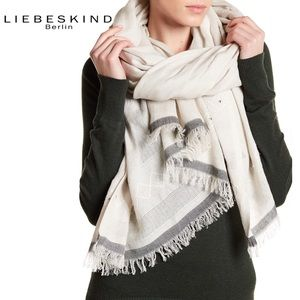 Liebeskind Berlin Beaded Embroidered Scarf